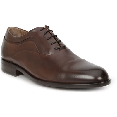Bruno Magli Sassiolo Cap Toe Oxford- Brown