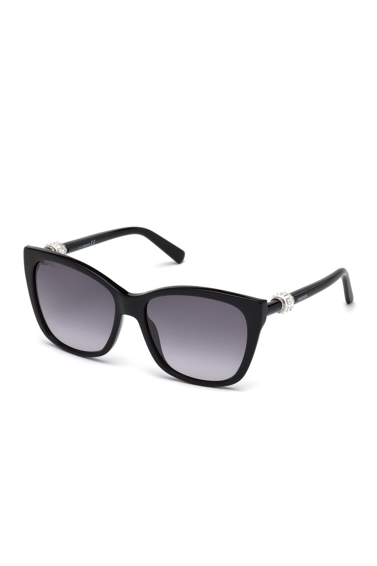 Image of Swarovski Square 58mm Sunglasses