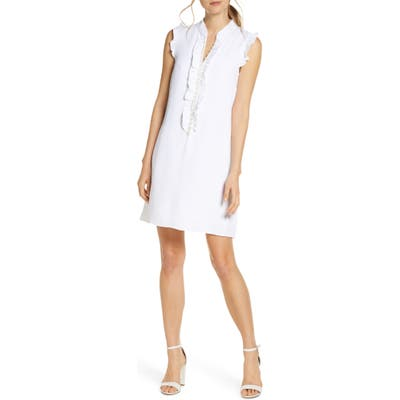 Lilly Pulitzer Adalee Shift Dress, White