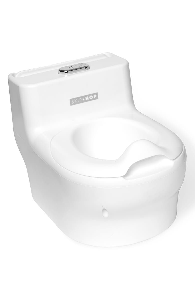 SKIP HOP Made for Me Potty Chair, Main, color, WHITE