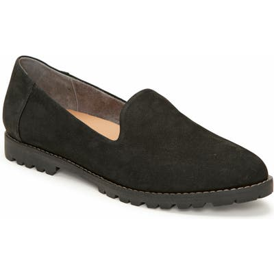 Me Too Cambrie Genuine Calf Hair Flat- Black