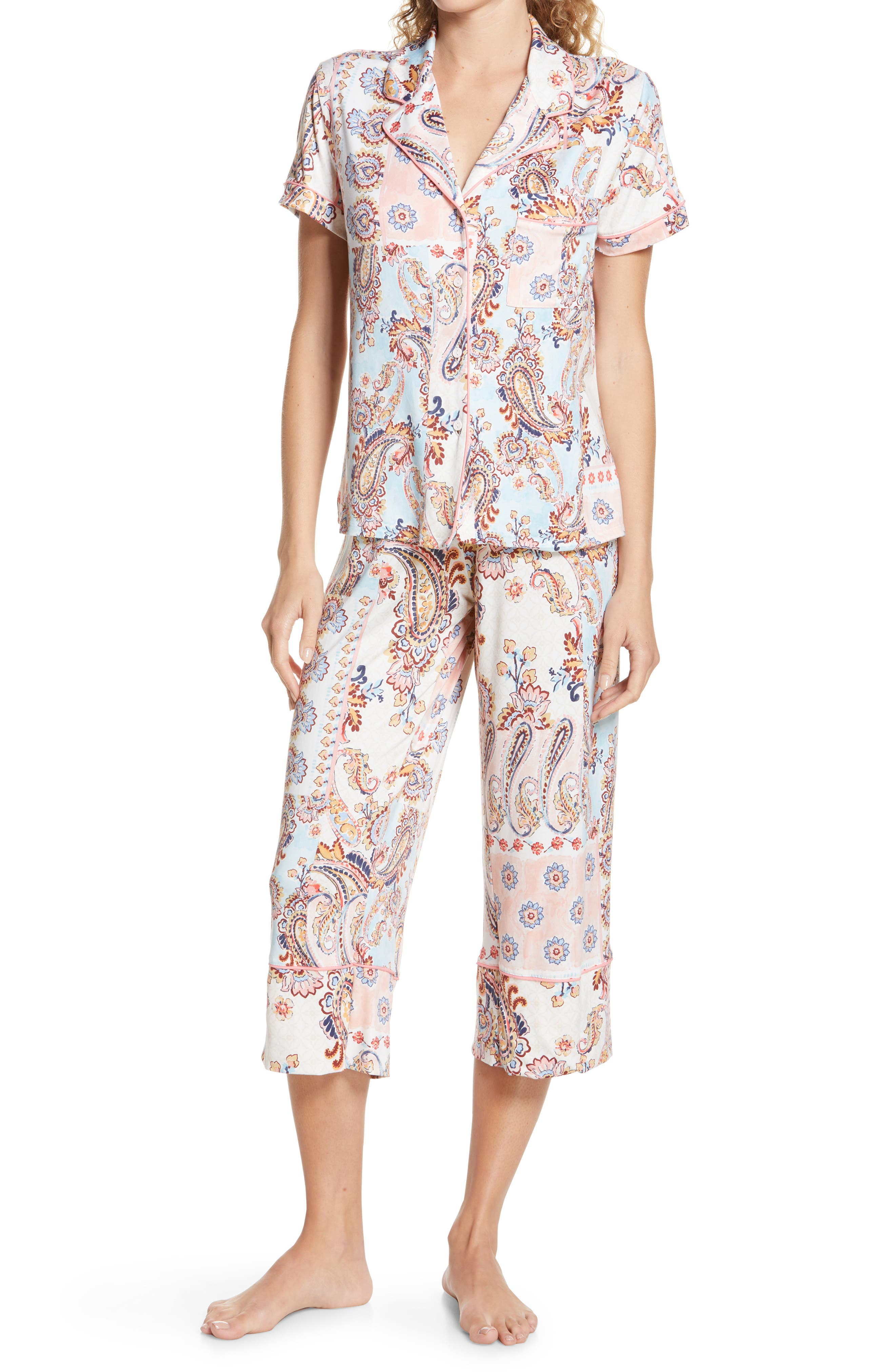 Tangelle Crop Pajamas