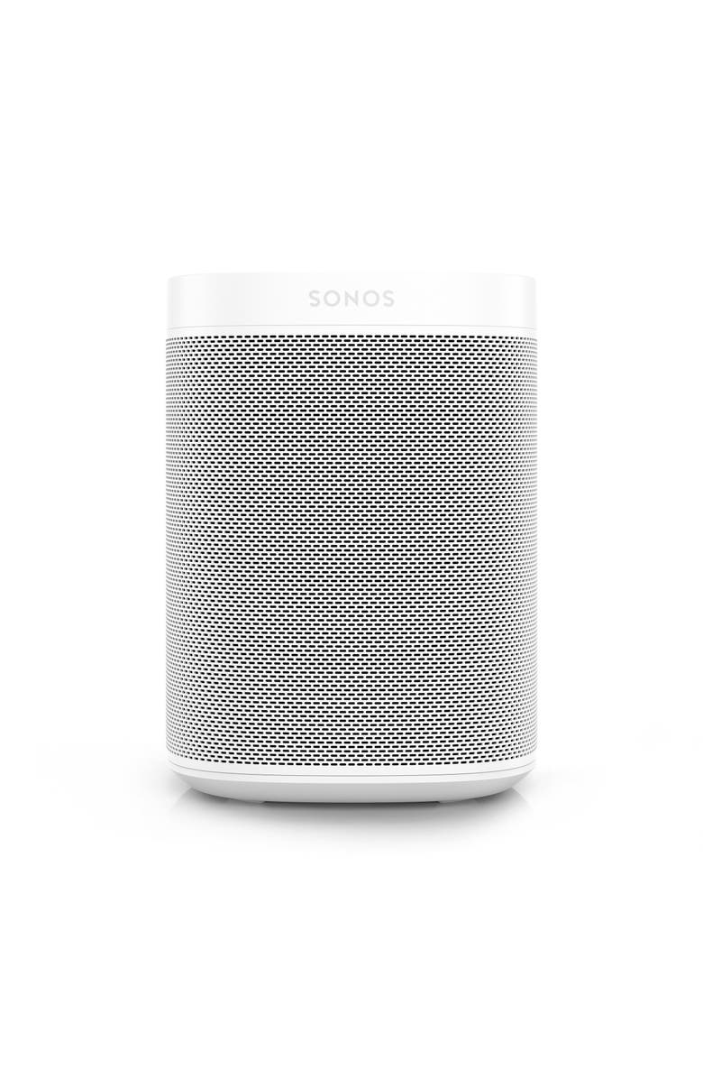 SONOS One Voice Controlled Smart Speaker, Main, color, WHITE