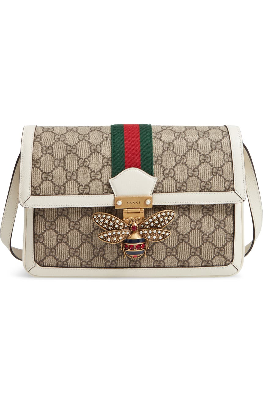 e293a9dbd49c Gucci Queen Margaret GG Supreme Small Crossbody Bag   Nordstrom