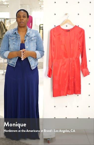 Floral Jacquard Sheath Dress, sales video thumbnail