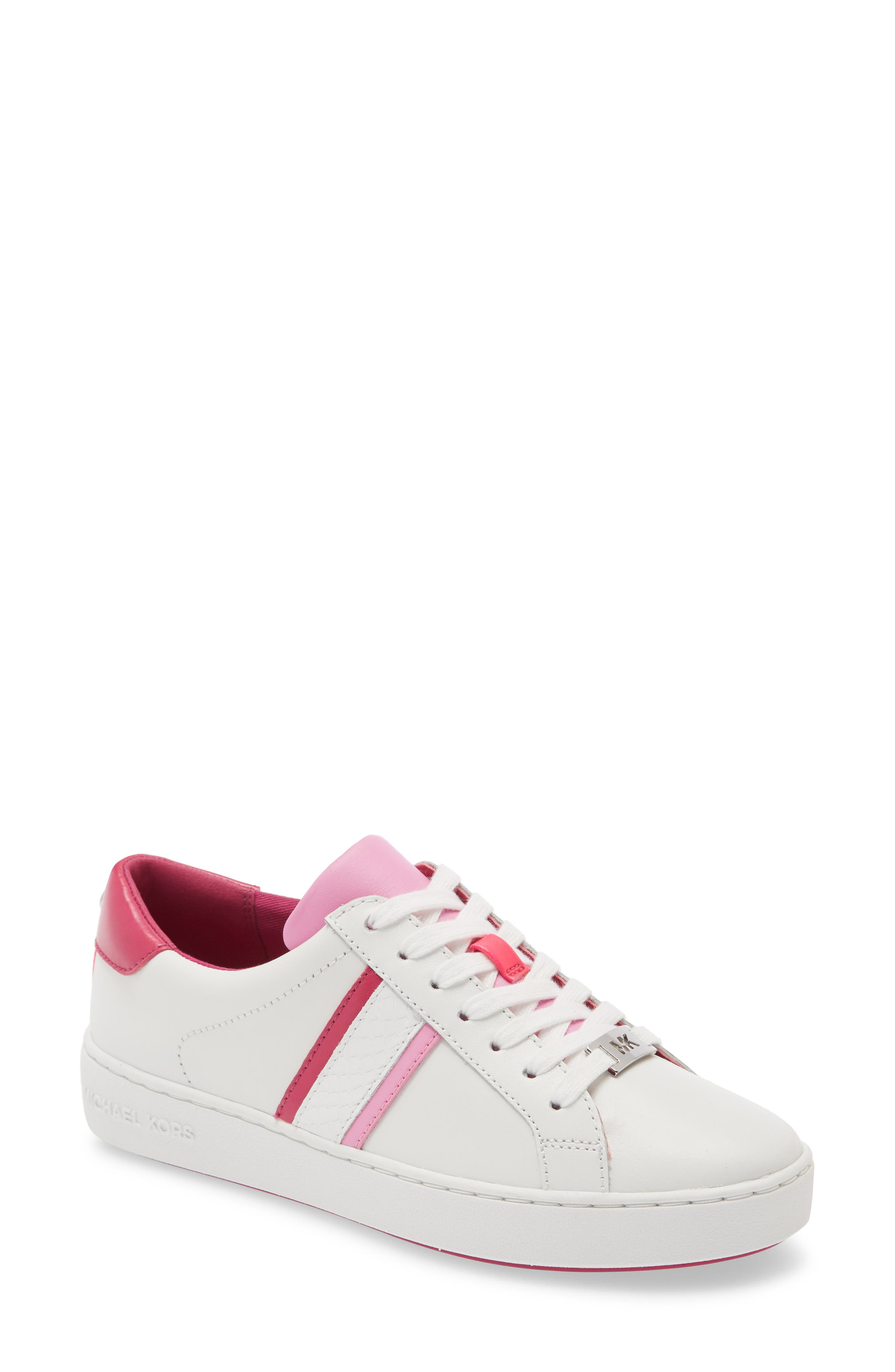 Image of MICHAEL Michael Kors Irving Striped Lace-Up Sneaker