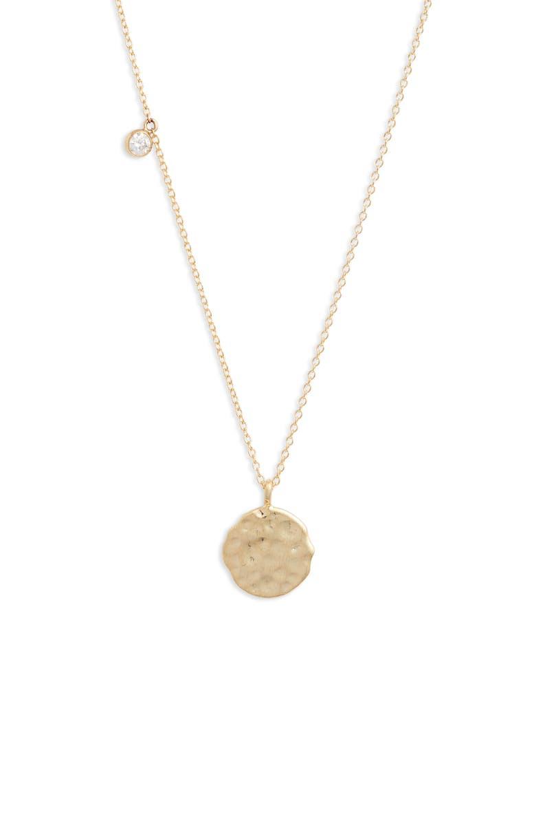 SET & STONES Marlow Pendant Necklace, Main, color, GOLD
