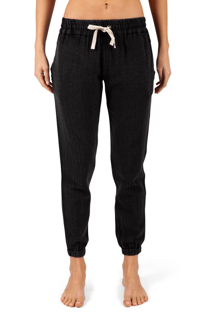 RIP CURL Classic Surf Pants, Main, color, BLACK