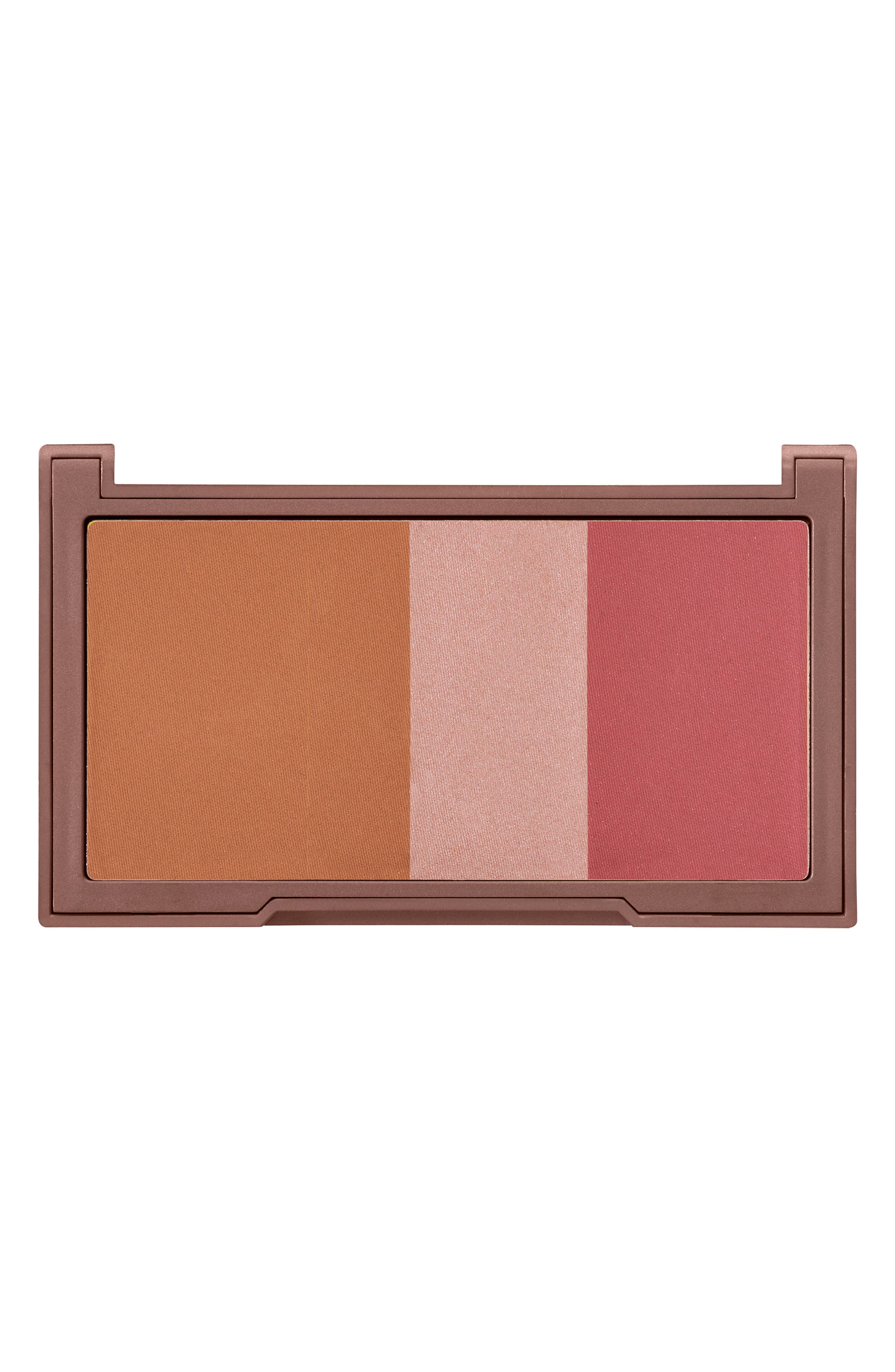 ,                             Naked Flushed Bronzer, Highlighter & Blush Palette,                             Alternate thumbnail 3, color,                             NAKED