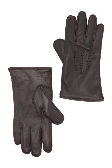 Image of UGG Wrangell Fur Lined Smart Gloves