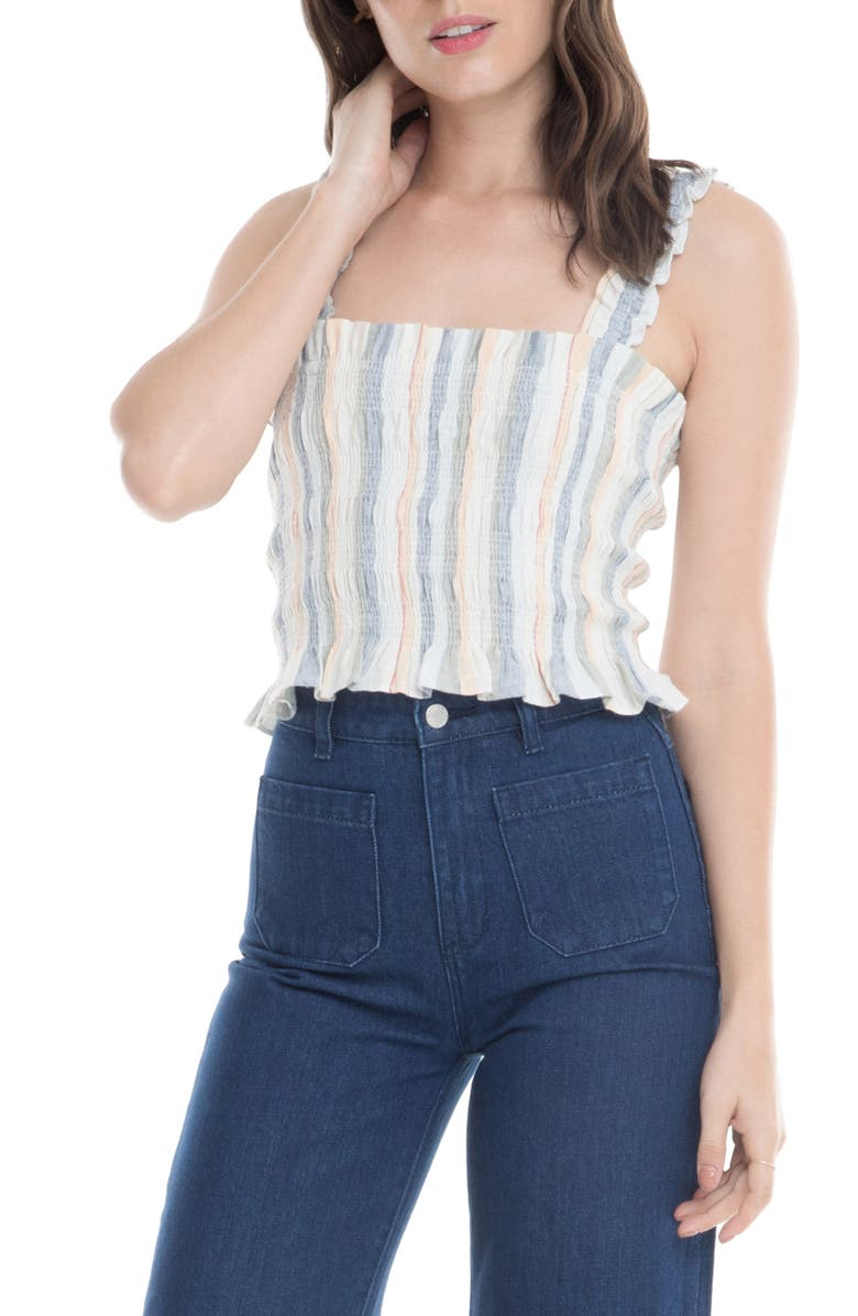 ASTR THE LABEL ASTR Twiggy Sleeveless Top, Main, color, 100
