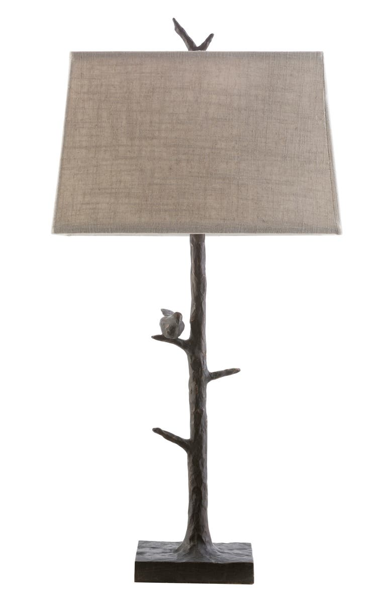 SURYA HOME Weber Branch Table Lamp, Main, color, BROWN