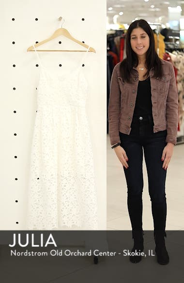 Lace Midi Dress, sales video thumbnail