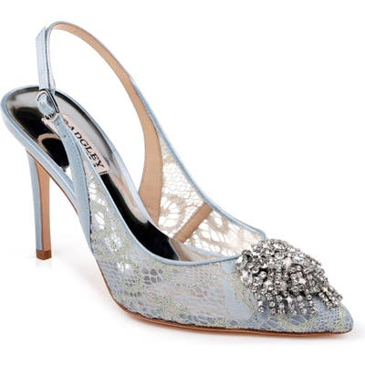 Badgley Mischka Laken Slingback Pump, Blue