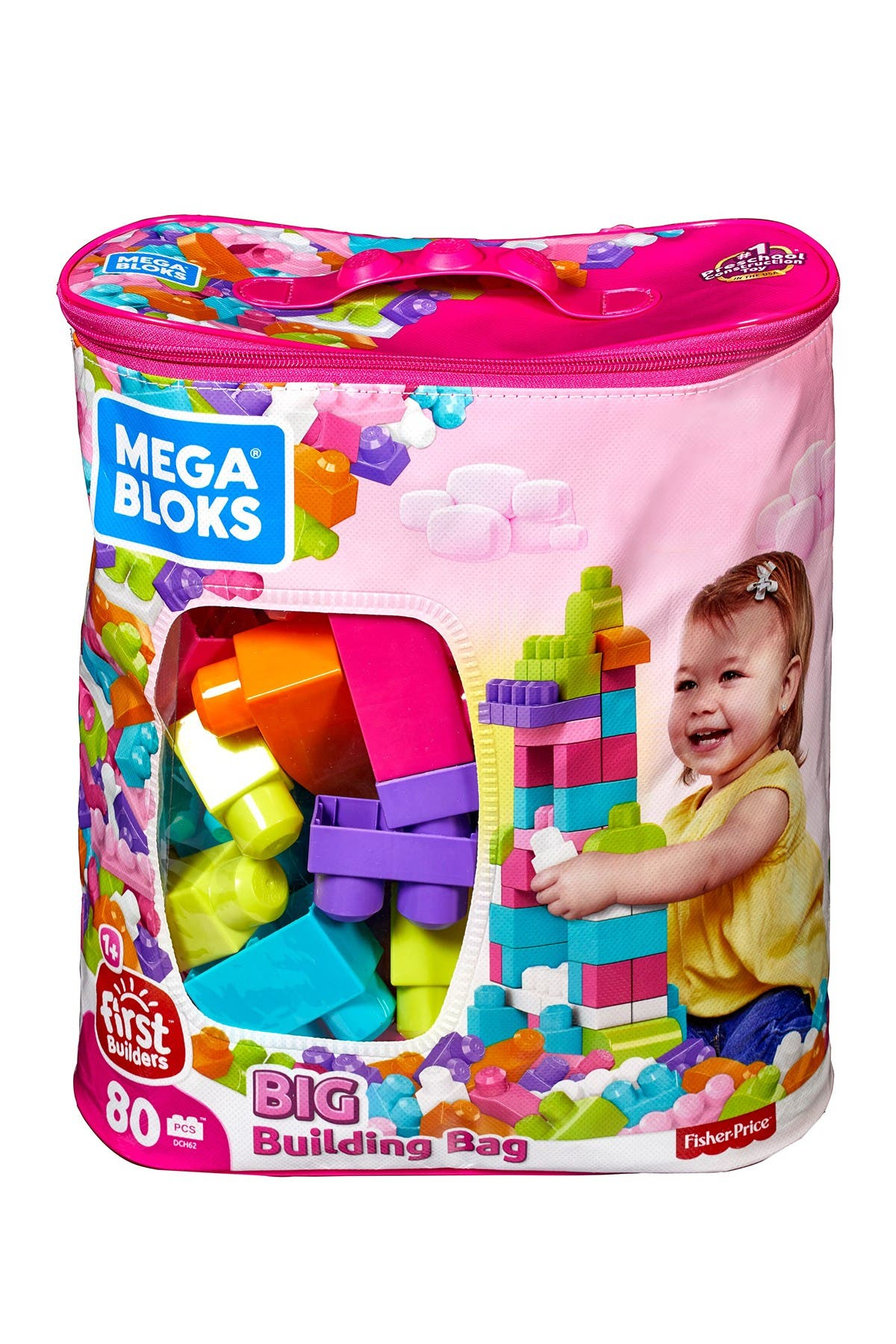 Image of Mattel First Builders - Big Building Bag