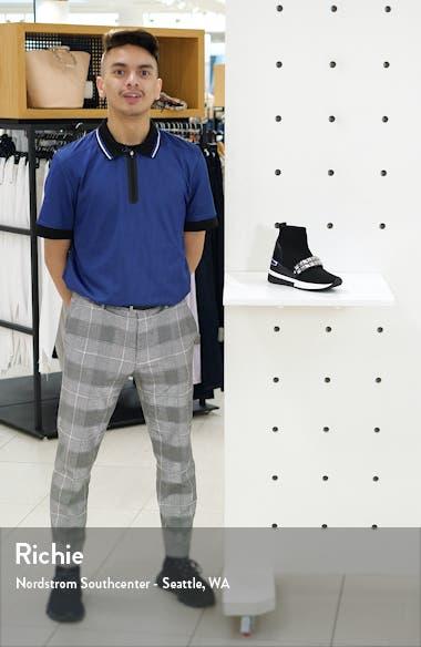 Skyler Embellished Wedge Bootie Sneaker, sales video thumbnail