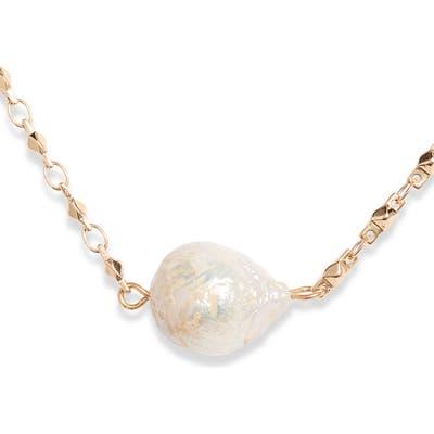 Halogen Imitation Pearl Necklace