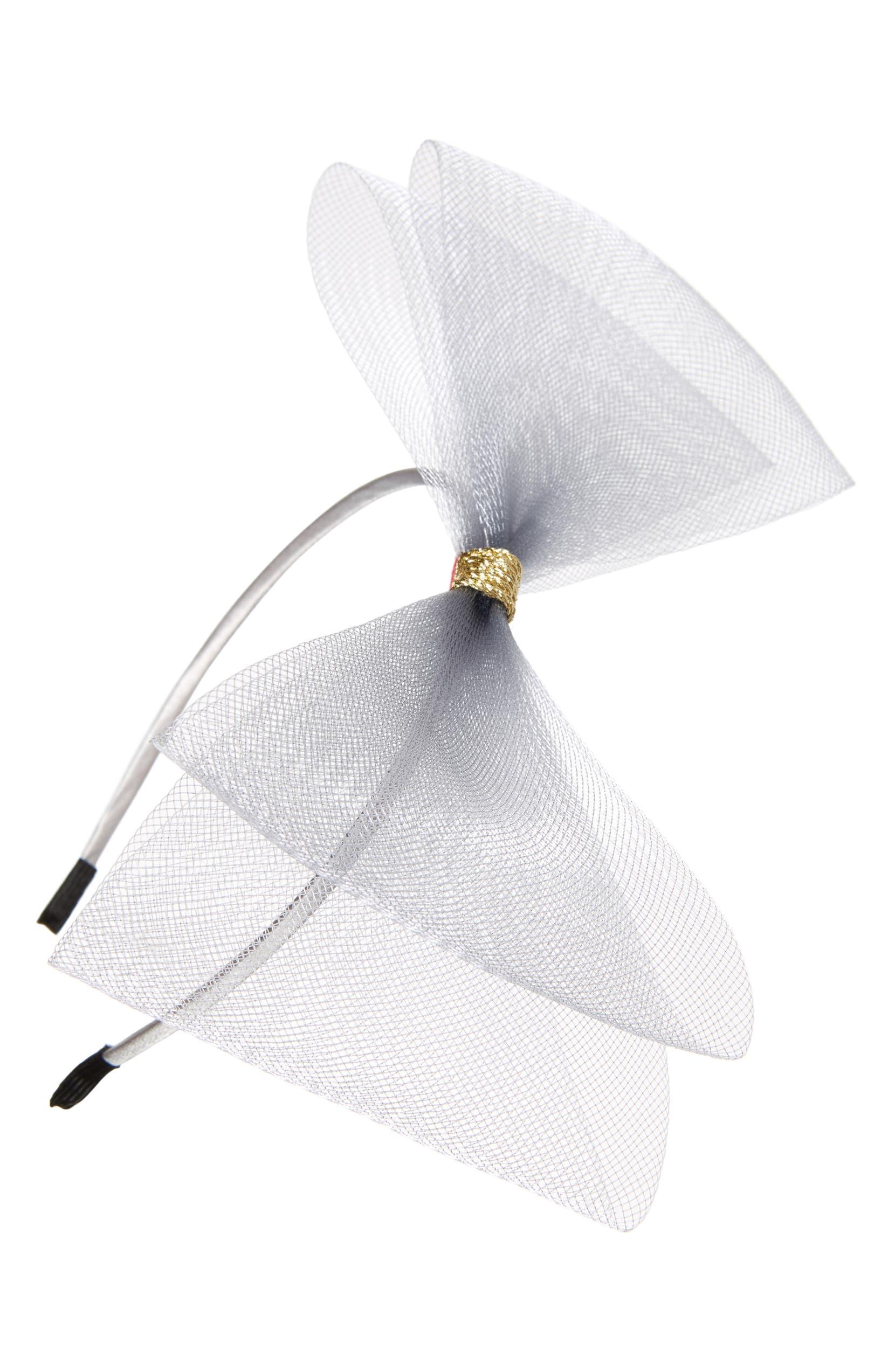 qualité-supérieure mieux grand assortiment Manière Double Mesh Bow Headband (Girls) | Nordstrom