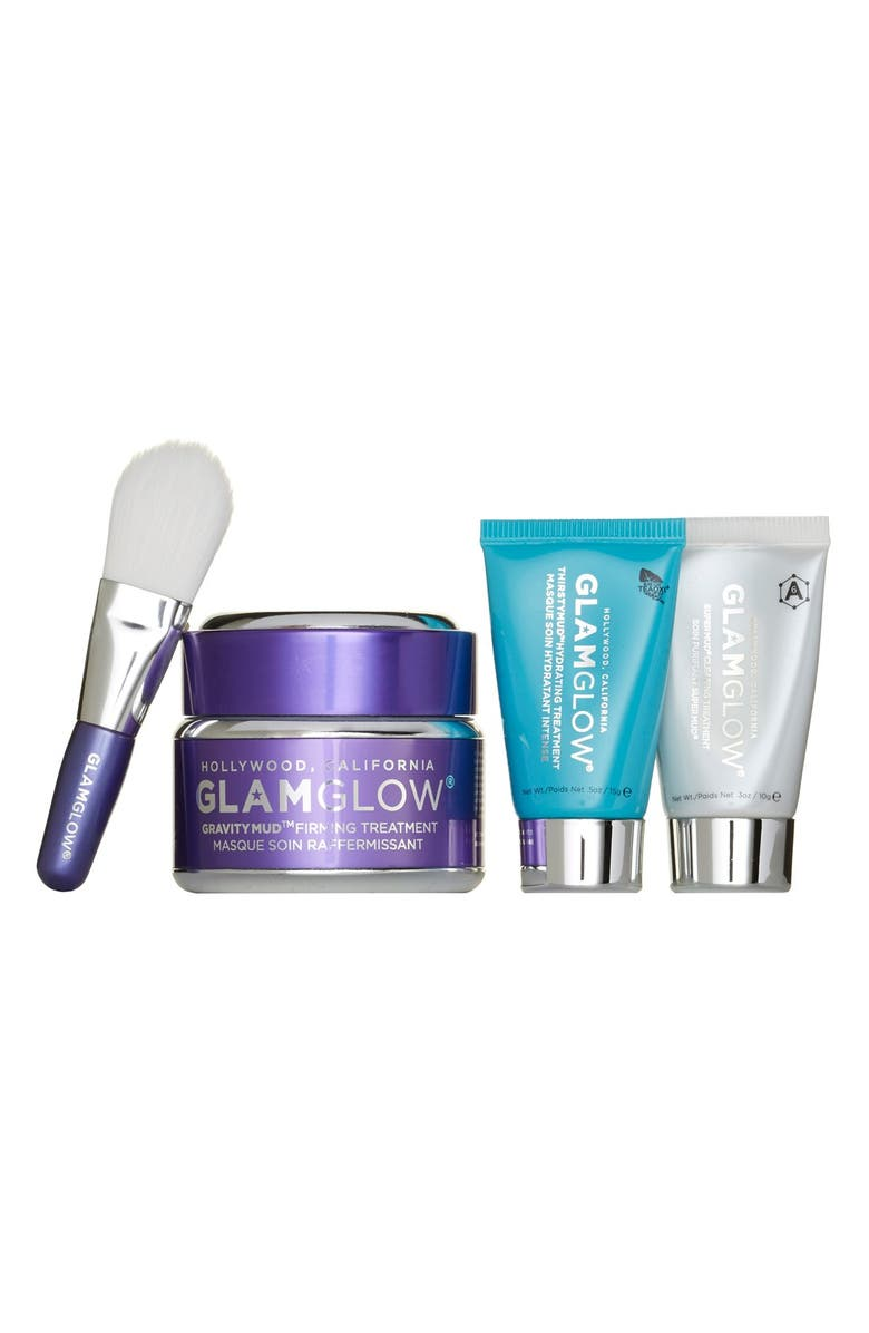 GLAMGLOW<SUP>®</SUP> 'Glamazing GRAVITYMUD<sup>™</sup>' Set, Main, color, 000