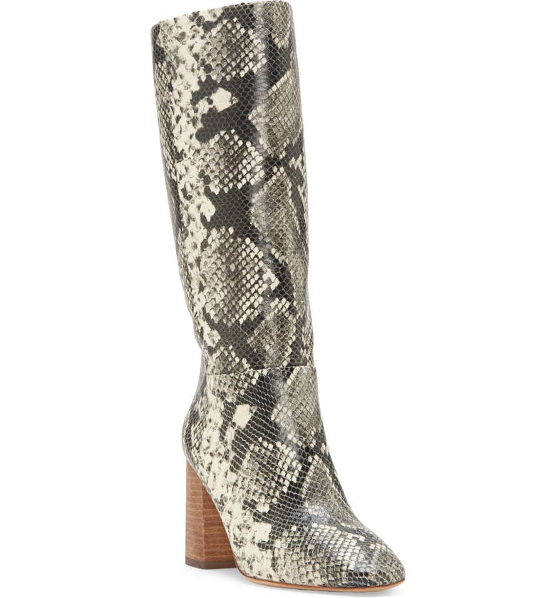 VINCE CAMUTO Risy Knee High Boot, Main, color, IVORY MULTI