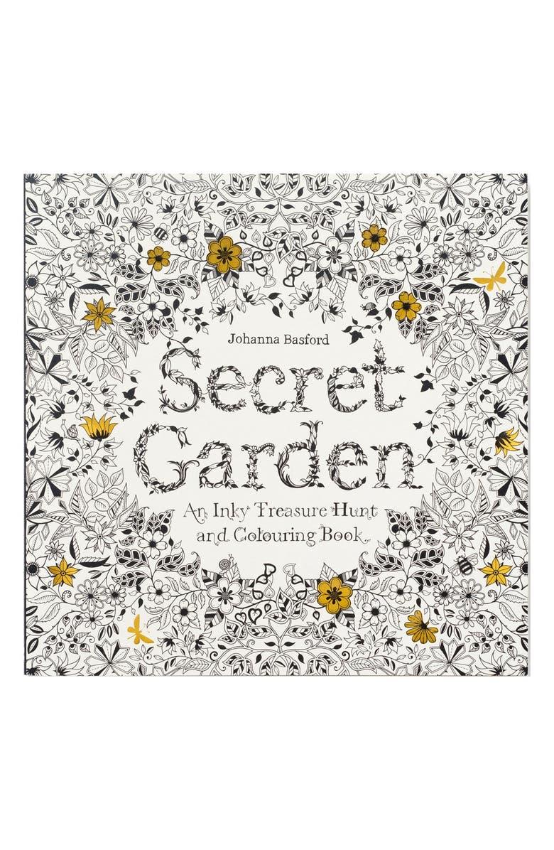 \'Secret Garden\' Coloring Book