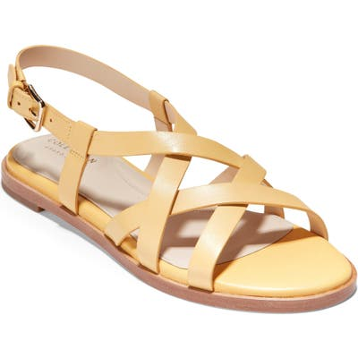 Cole Haan Analeigh Strappy Sandal B - Yellow
