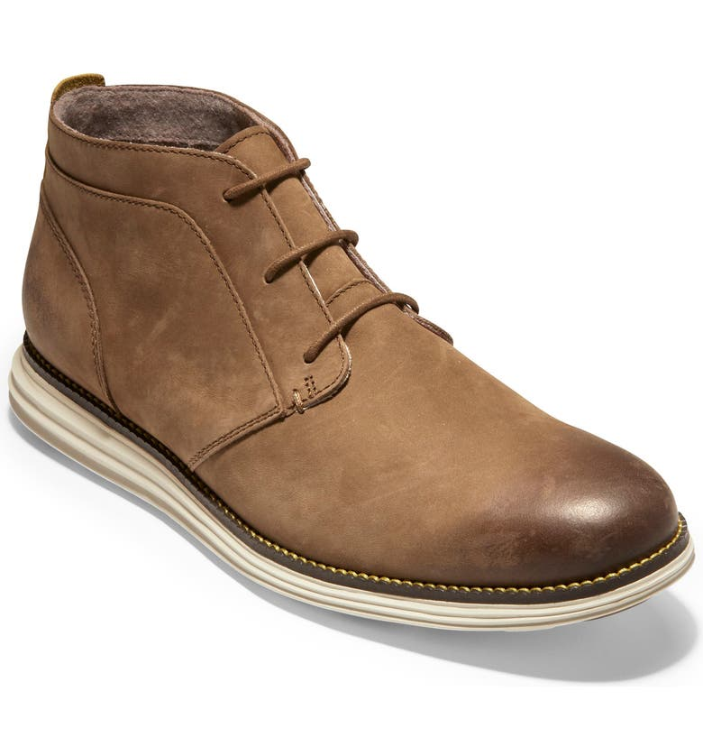 COLE HAAN Original Grand Chukka Boot, Main, color, DOGWOOD BURNISH NUBUCK