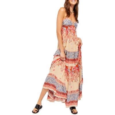 Free People Give A Little Sleeveless Maxi Dress, White