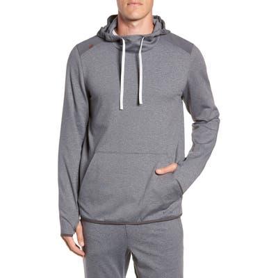 Rhone Nylon Tactel Hoodie, Grey