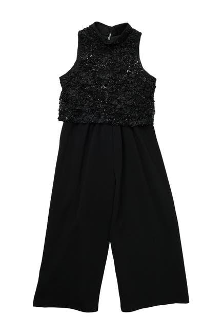 Image of GERSON & GERSON Sequin Jumpsuit