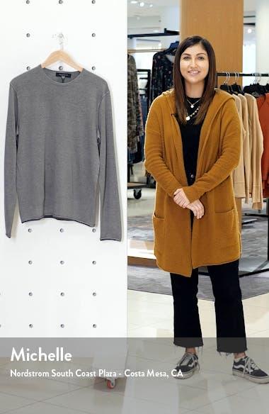 Trent Crewneck Wool Blend Sweater, sales video thumbnail