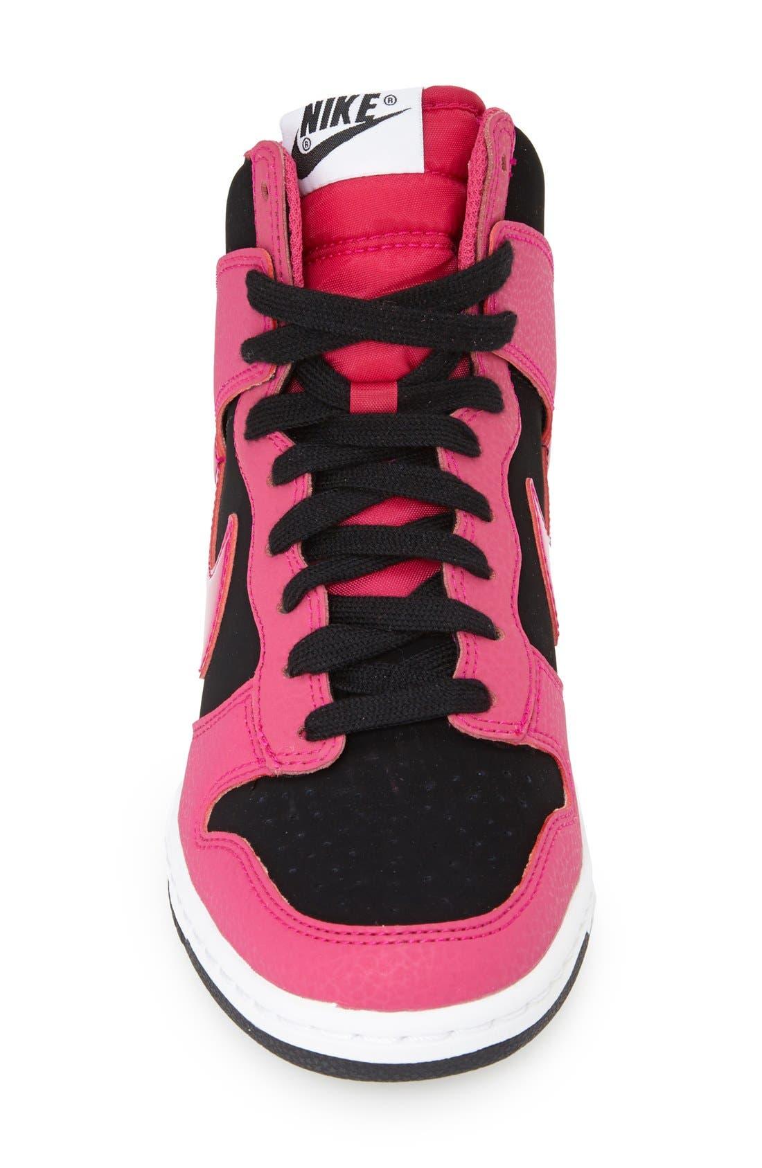 ,                             'Dunk Sky Hi - Essential' Wedge Sneaker,                             Alternate thumbnail 20, color,                             010
