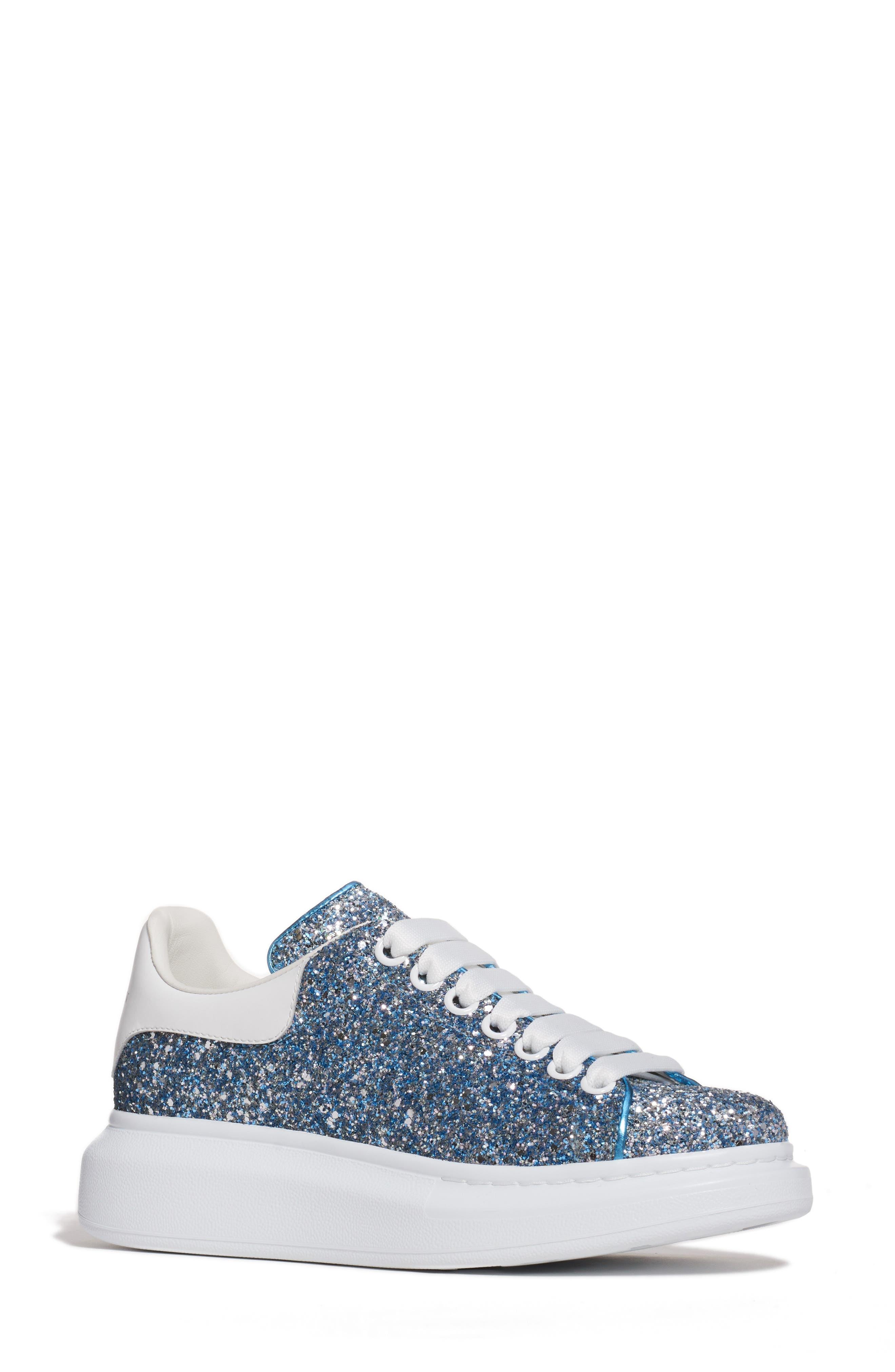 Alexander Mcqueen Sneaker, Blue