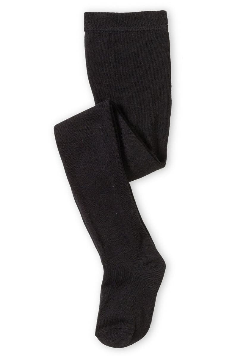 TUCKER + TATE Sweater Tights, Main, color, BLACK