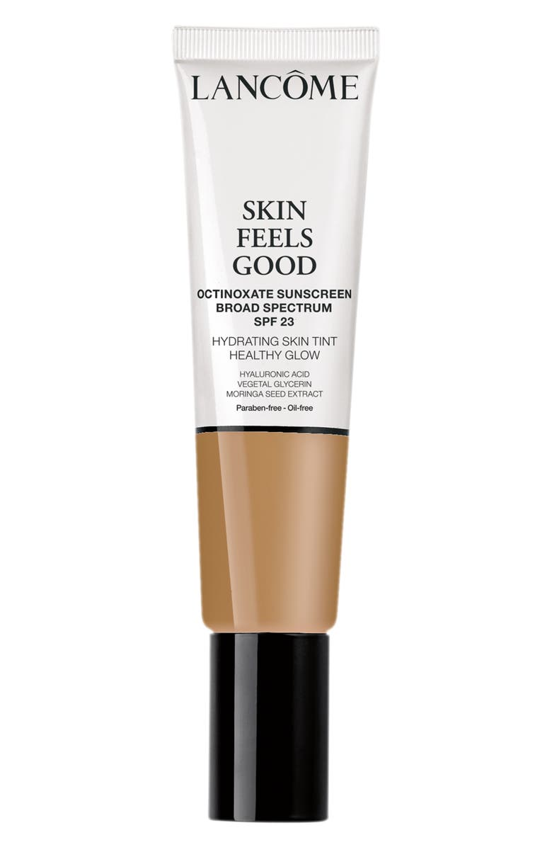 LANCÔME Skin Feels Good Hydrating Skin Tint Healthy Glow Foundation SPF 23, Main, color, 05N RADIANT TAN
