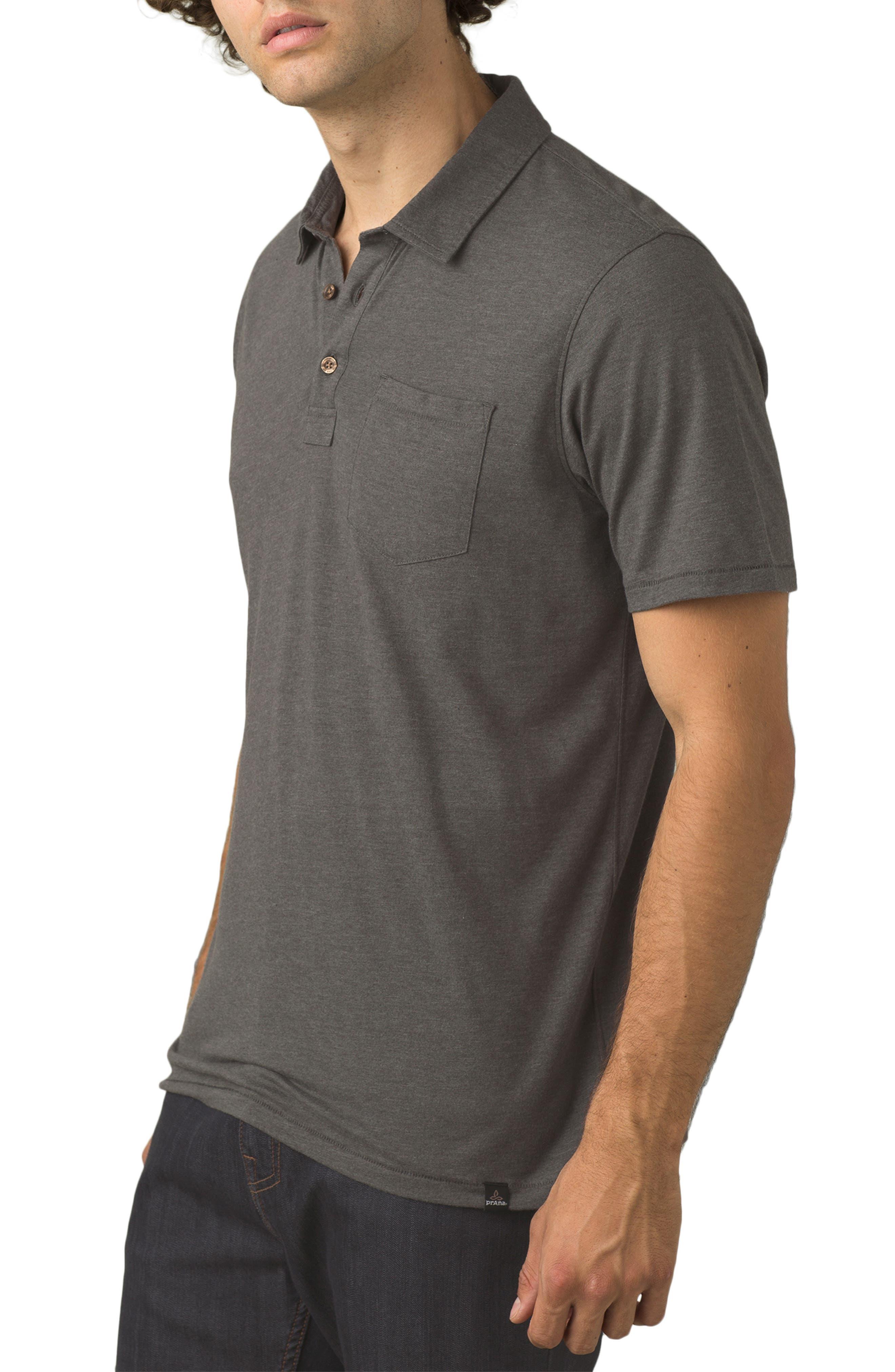 Men's Big & Tall Prana Men's Classic Fit Short Sleeve Polo