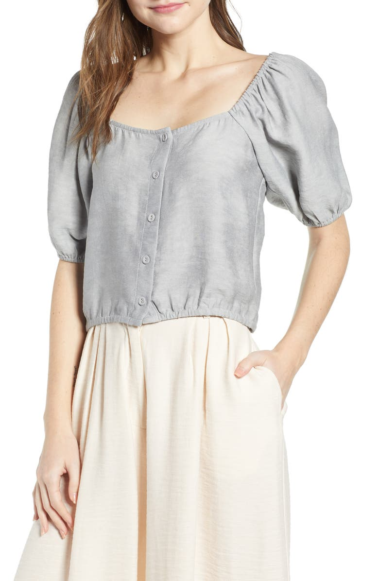 THE ODELLS Square Neck Blouse, Main, color, 250