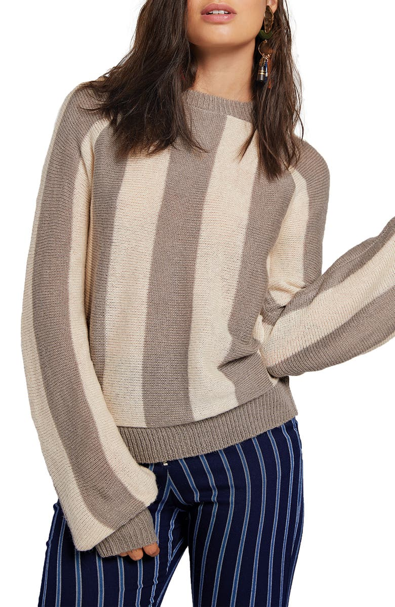 STONE ROW Put It on Me Crewneck Sweater, Main, color, 024