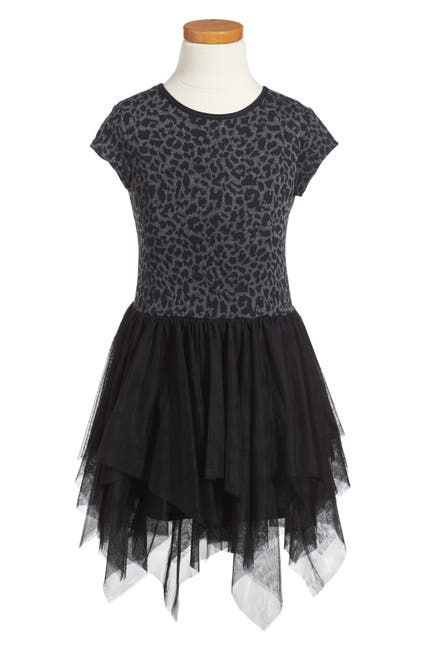 Image of Pastourelle by Pippa and Julie Leopard Print Tulle Dress