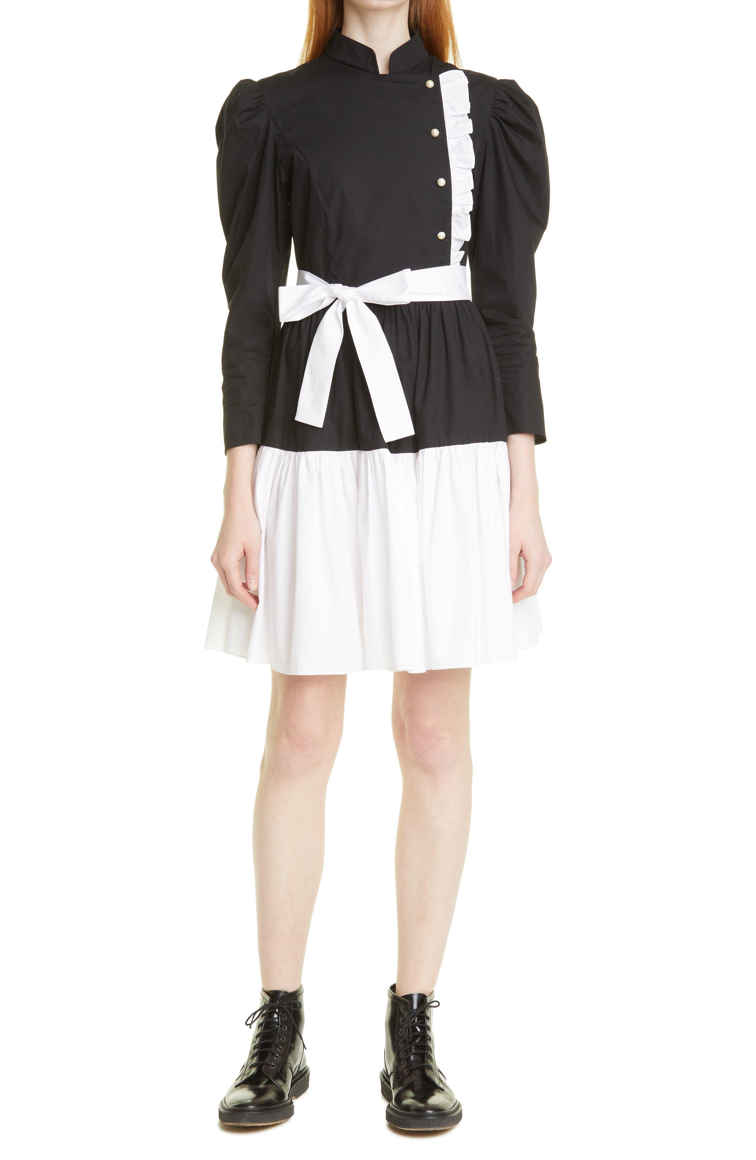 Sadie Long Sleeve Cotton Dress