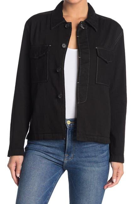 Image of Billy Reid Utility Patch Shirt Jacket