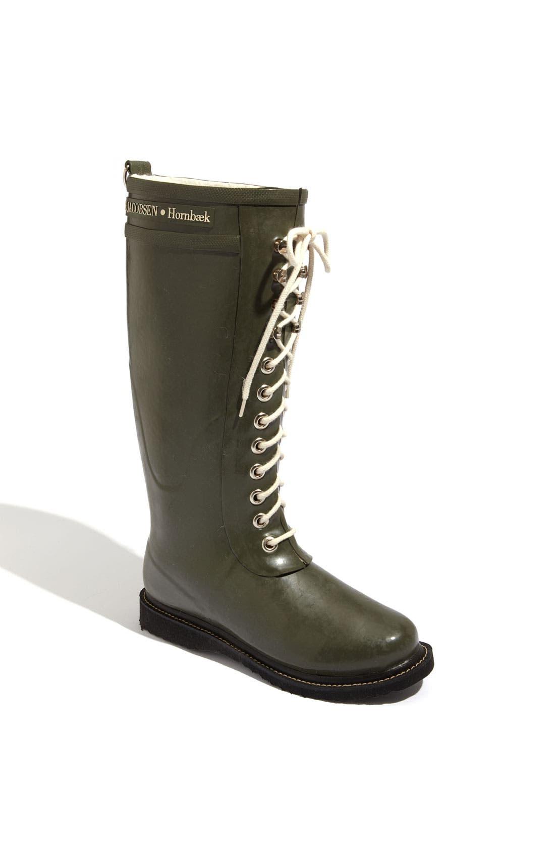 Ilse Jacobsen Rubber Boot, Green