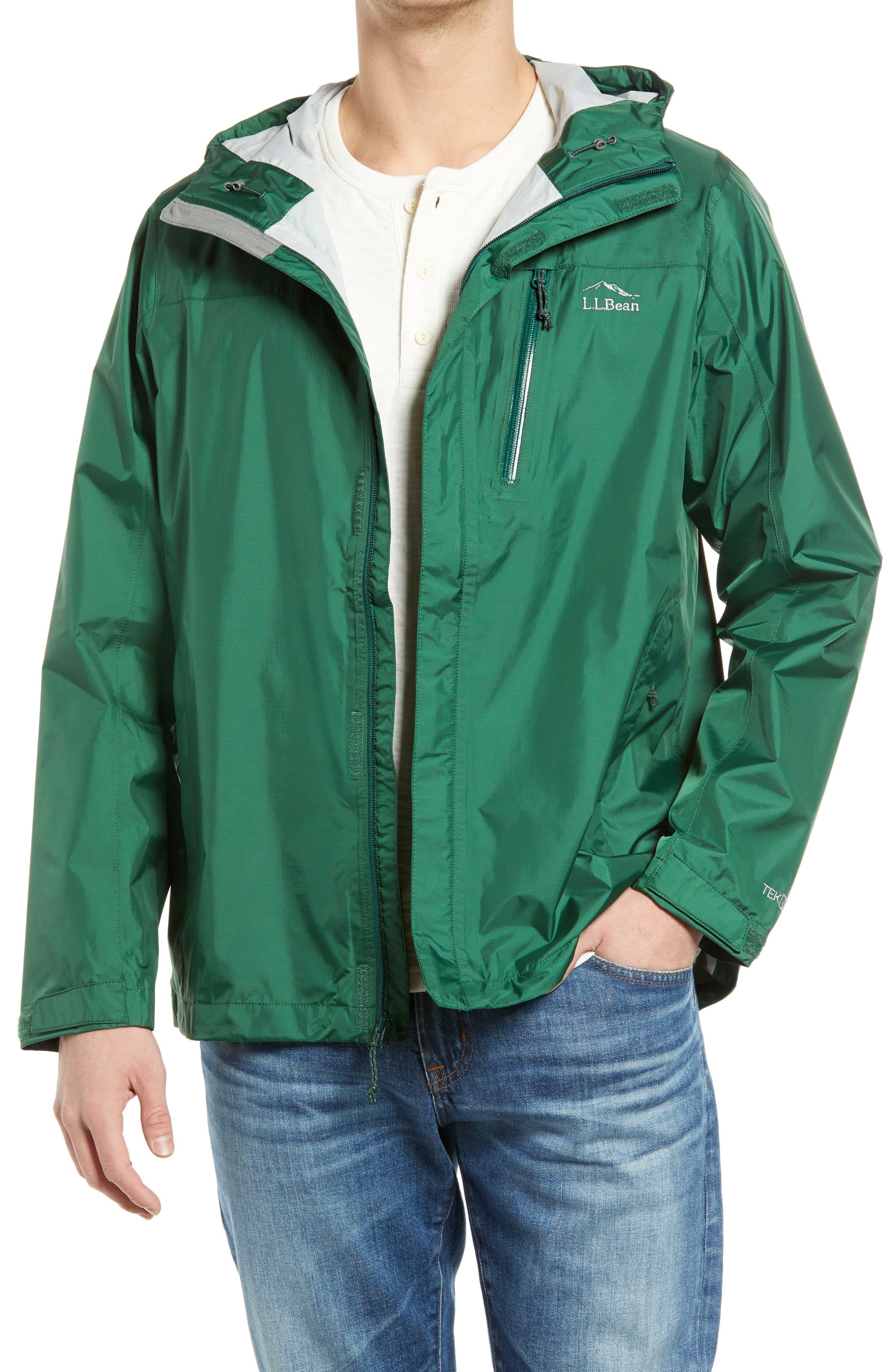 Men's Trail Model Water Repellent Rain Jacket