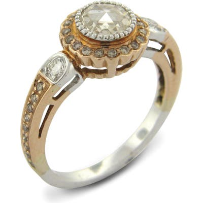 Sethi Couture True Romance Champagne Diamond Ring