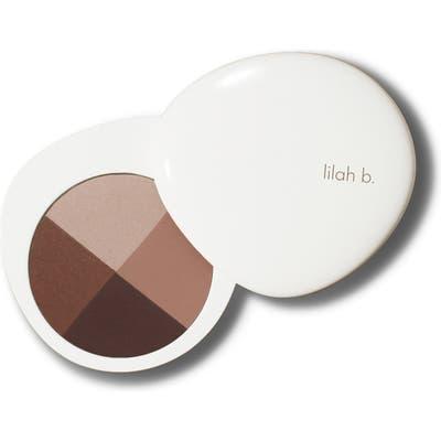 Lilah B. Palette Perfection Eye Quad - B. Stunning (Nude Palette)