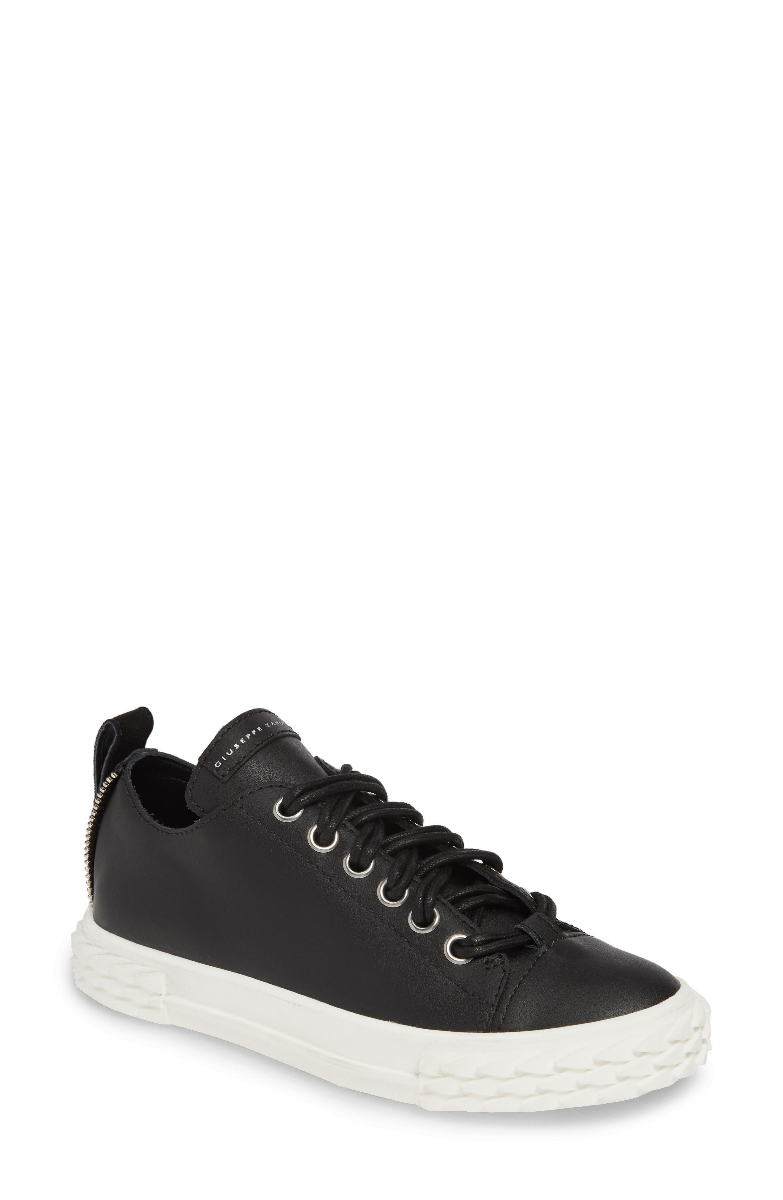 Giuseppe Zanotti Scale Sneaker, Black