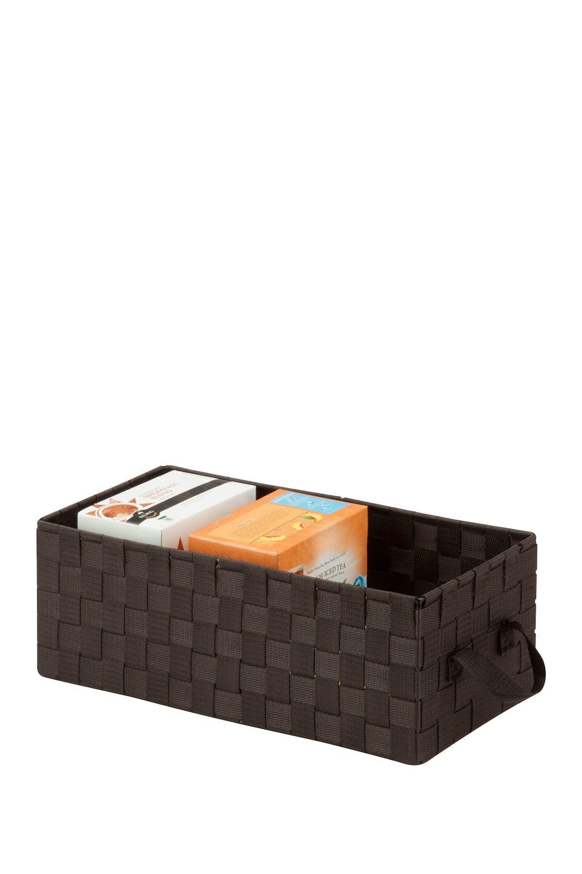 Image of Honey-Can-Do Espresso Woven All-Purpose Basket