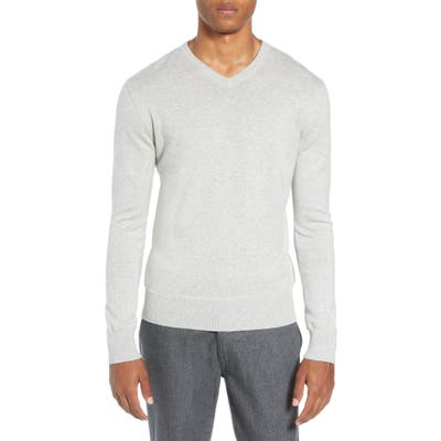 Life/after/denim Tournament Regular Fit V-Neck Sweater, Grey