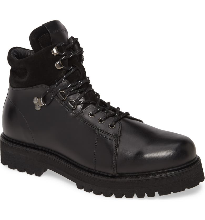 ALLSAINTS Dillion Plain Toe Boot, Main, color, BLACK