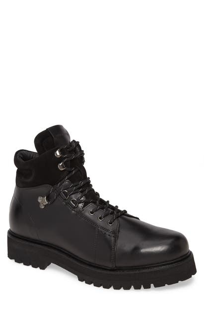 Allsaints Dillion Plain Toe Boot In Black